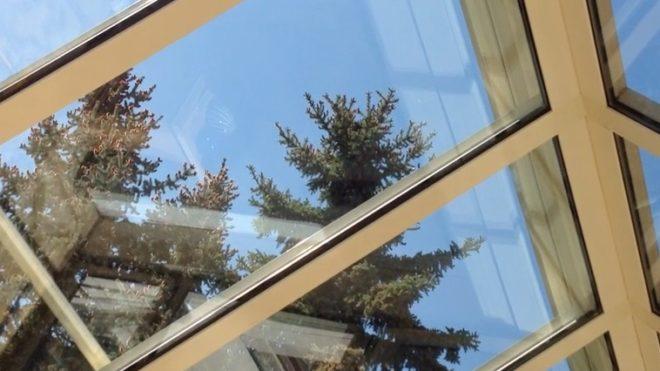 Wintergartenreinigung einen glasdach nürnberg erlangen ansbach neustadt