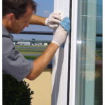 Reinigung von Fensterrahmen www.glasklar-fensterreinigung.de Schwabach Roth Fürth Nürnberg
